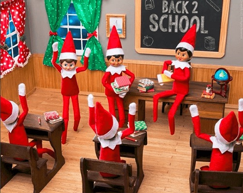 Santa's Scout Elves