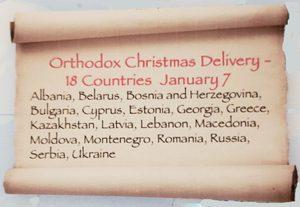 Orthodox Christmas Countries
